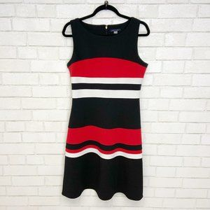 Tommy Hilfiger A-Line Striped Dress